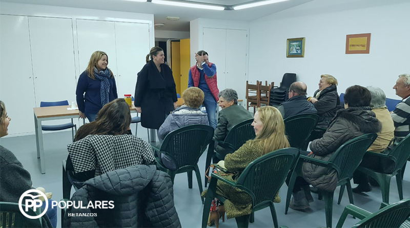 Cecilia Vázquez visita San Martiño de Tiobre dentro del programa Facemos Betanzos Contigo