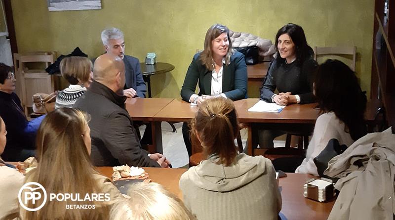 """Cecilia Vázquez: """"Impulsaremos la recuperación del casco histórico con un plan estratégico que tenga en cuenta el comercio, la hostelería y el turismo"""""""