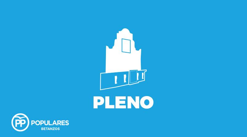 Ruegos y preguntas del PP de Betanzos en el pleno de julio de 2019.