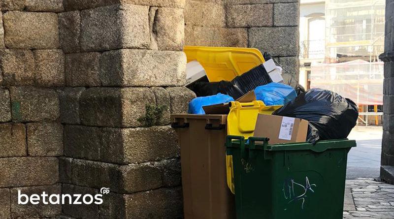 Problemas de recogida de basura en betanzos