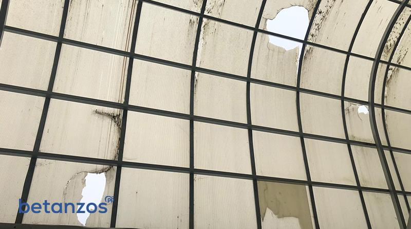 El Concello de Betanzos tiene en total abandono un pabellón deportivo construido gracias a la donación de un vecino